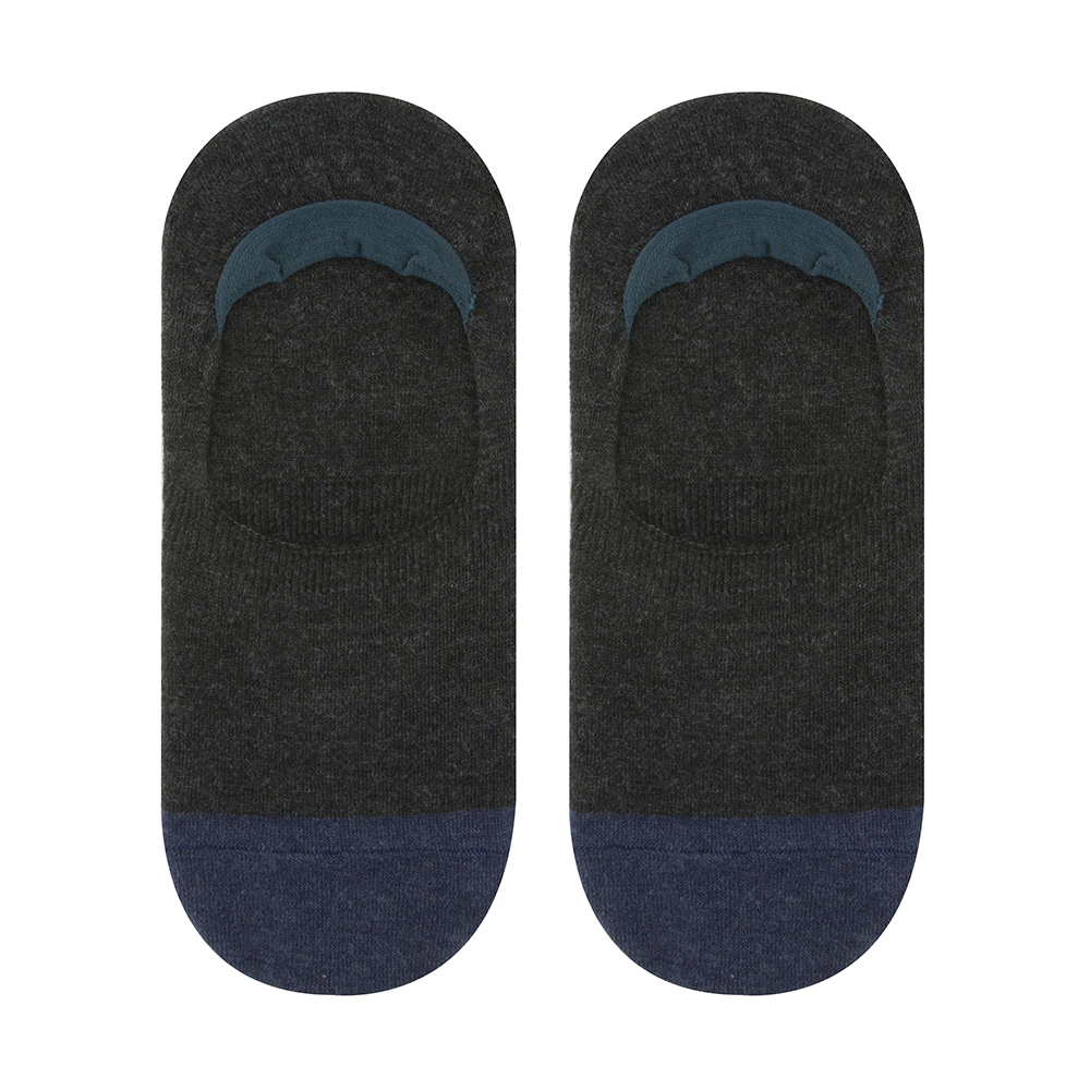 cover socks color melange charcoal