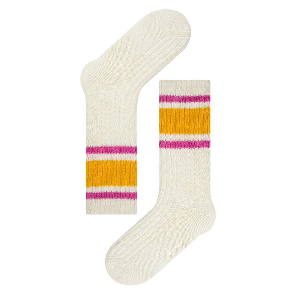 NEUL triple stripe wool ivory (20% OFF)