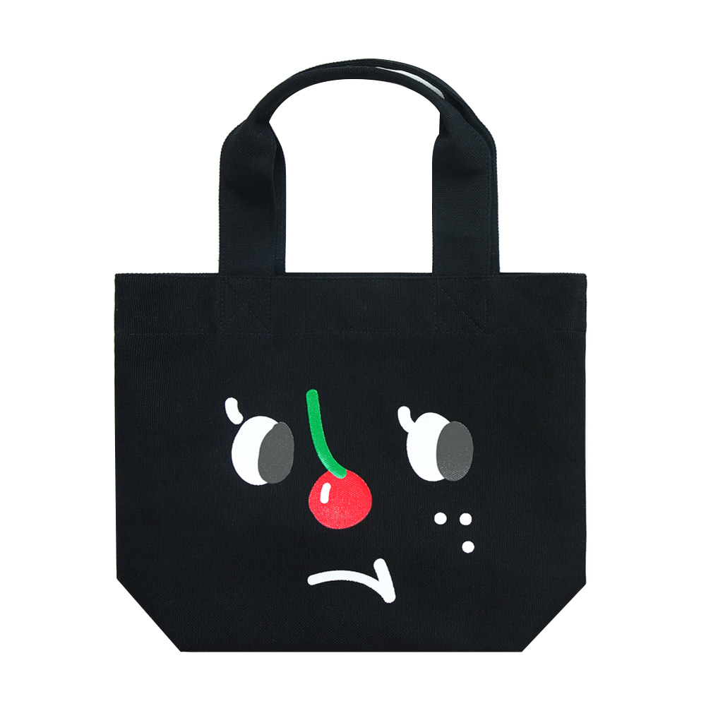 slowcoaster black cherry nose tote (30% OFF)
