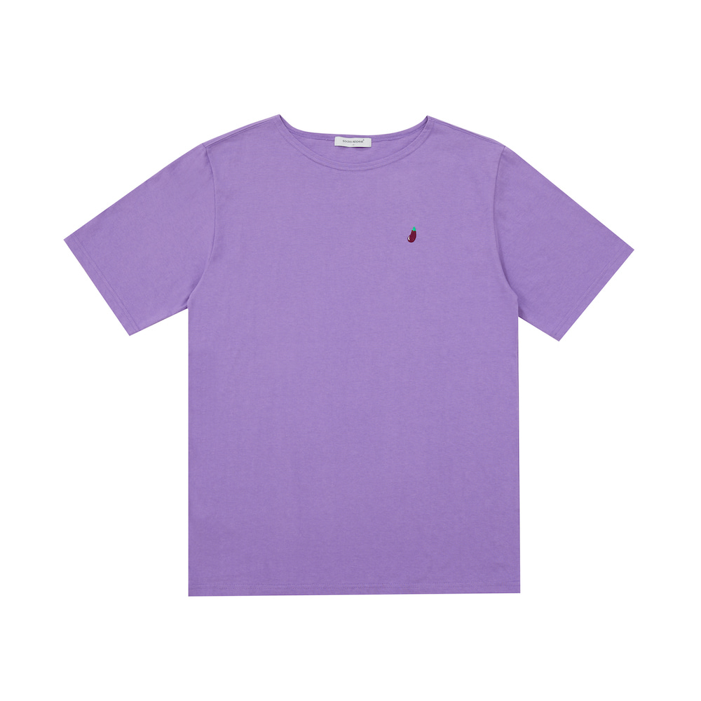 U neck T eggplant (OPEN EVENT 10% OFF)