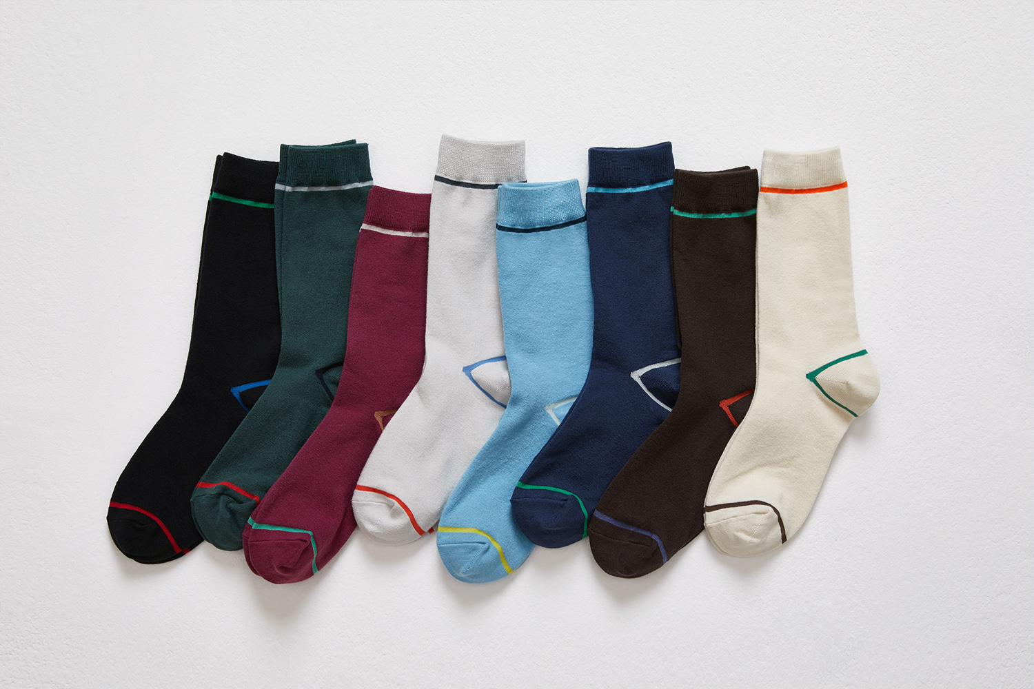 19S/S COLOR LINE SOCKS