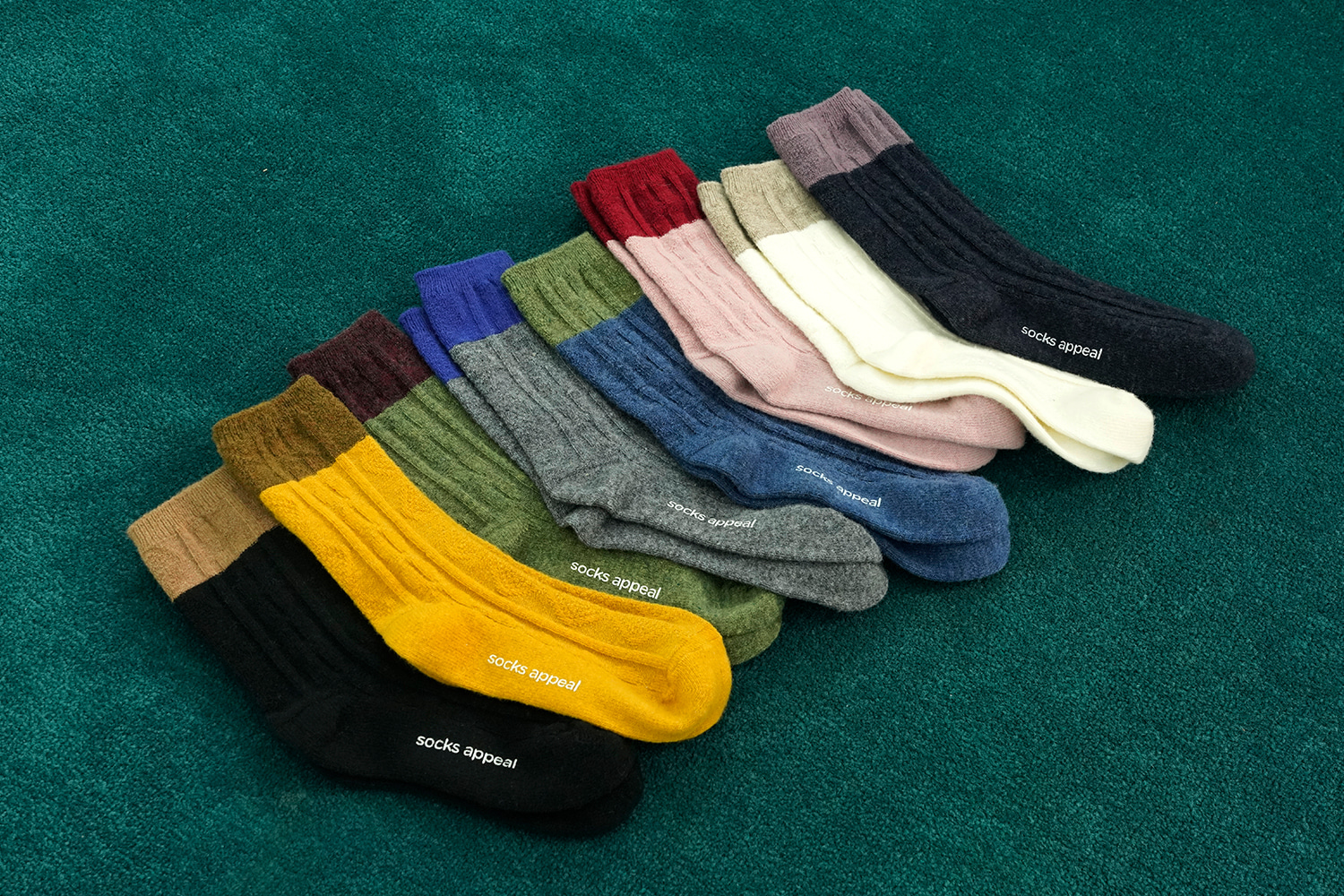 SOCKSAPPEAL WOOL SOCKS COLLECTION