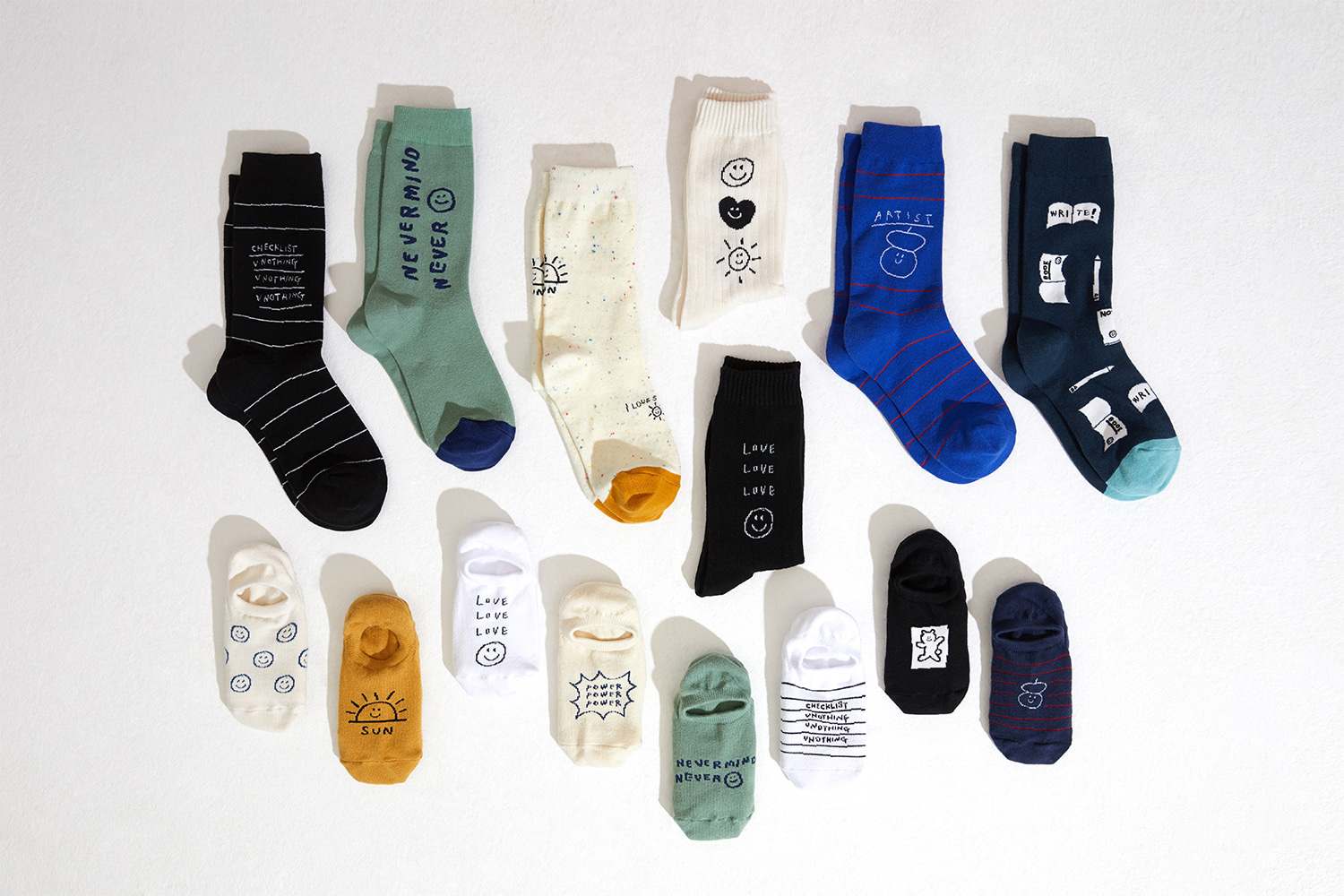 20SS SOCKSAPPEAL X INAPSQUARE